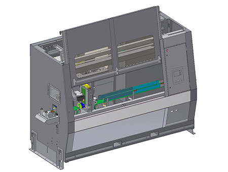 Vision Automation cutter for automotive extrusions