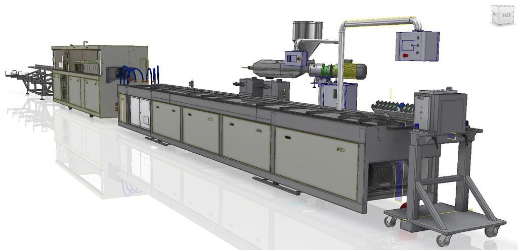 Vision Automation PVC Downstream Equipment