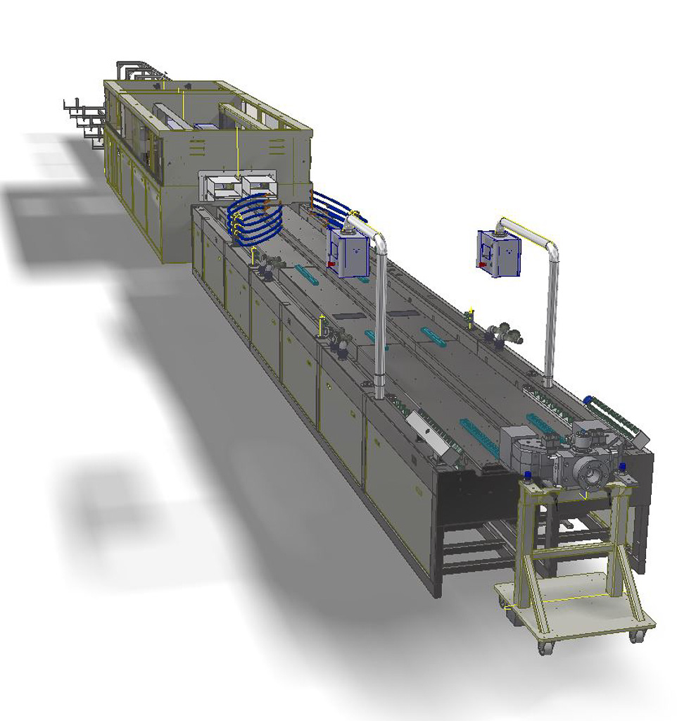 Vision Automation double line downstream equipment