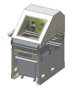 Nail Hole / Drain Hole Punch Machines by Vision Automation